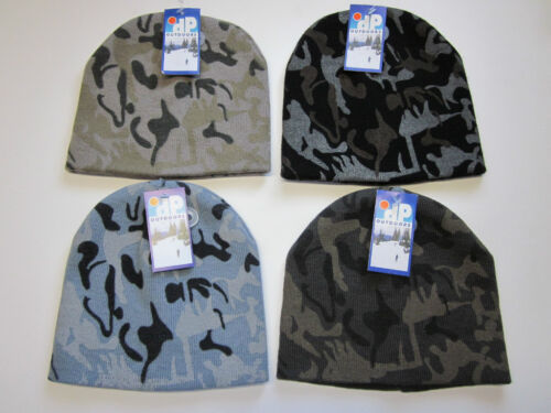 New DP Outdoors Camouflage Beanie Camo Ski Skull Cap