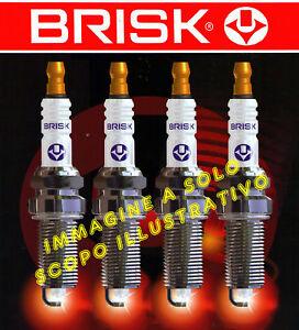 KIT 4 CANDELE NGK SPARK PLUG BKR5EZ FIAT Seicento 1100 1.1 40 kW 187A1000 2003