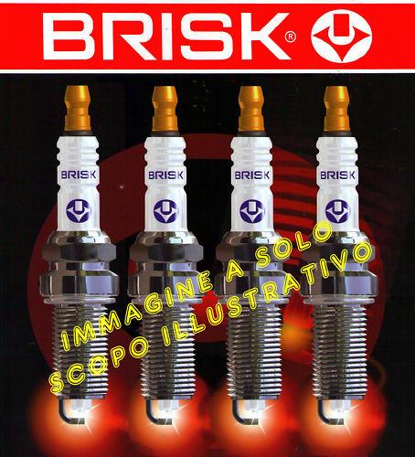 LR14YC nr 4 candele accensione FIAT RITMO 125 TC ABARTH Brisk Super