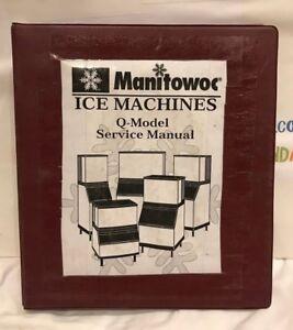MANITOWOC ICE MACHINES Q-MODEL SERVICE MANUAL USED | eBay on