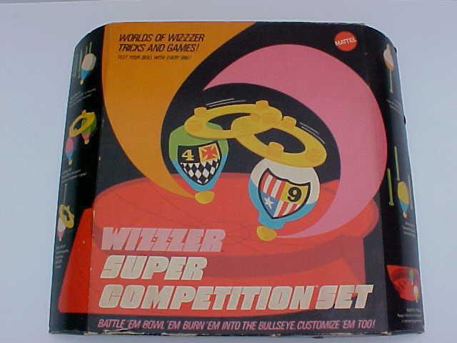 Raro 1970 Mattel Wiz-Z-zer Super competencia Conjunto Menta En Caja Stock Viejo