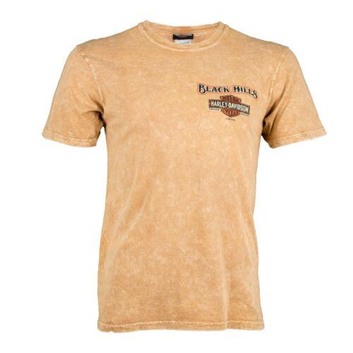 Black Hills Harley-Davidson® Men/'s Retro Short Sleeve T-Shirt