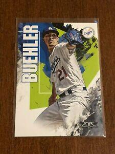 2019-Topps-Fire-Baseball-Base-Card-Walker-Buehler-Los-Angeles-Dodgers