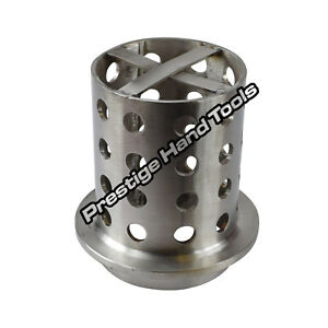 "Casting Flask Perforated 3/"" x 5/"" Vacuum Wax Casting flask flange Stainless steel"