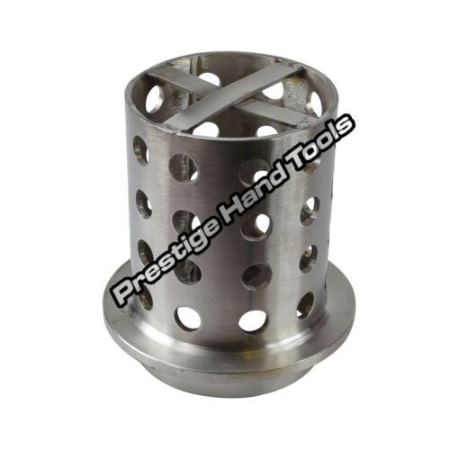 "Casting Flask Perforated 3.5/"" x 8/"" Vacuum Wax Casting flask Stainless steel"