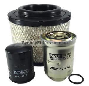 mazda bt-50 b2500 air oil fuel filter kit bt50 2.5l 3.0l turbo