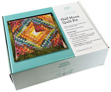 """Kaffe Fassett HALF MOON Fabric Quilt Kit 72"""" x 72"""" Woven Strip and Shot Cotton"""