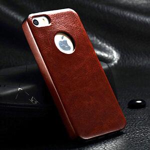 Apple-iPhone-4S-4-etui-coque-Housse-En-Cuir-Veritable-Couverture-Protection