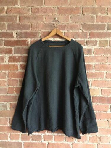 1.61 Mens Shirt, Linen + Cotton Blend, Sz XL, Piec
