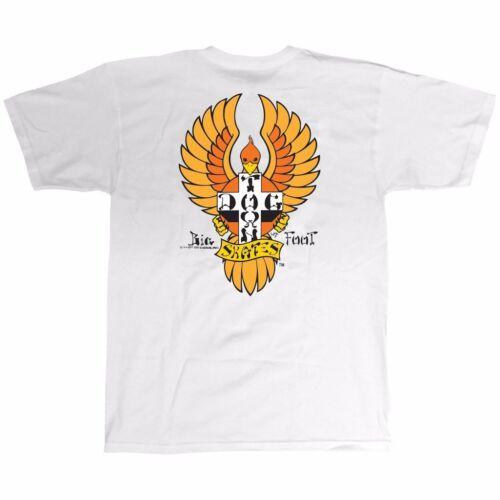 Dogtown Wes Humpston BIGFOOT Skateboard T Shirt WHITE MEDIUM