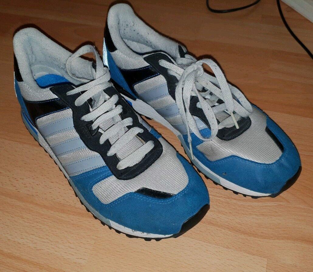 Retro hombre Adidas ZX Azul/Blanco Para hombre Retro Zapatillas d4076d