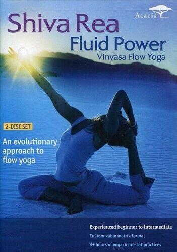 Shiva Rea Fluid Power - Vinyasa Flow Yoga - DVD By Shiva Rea - GOOD - $3.94