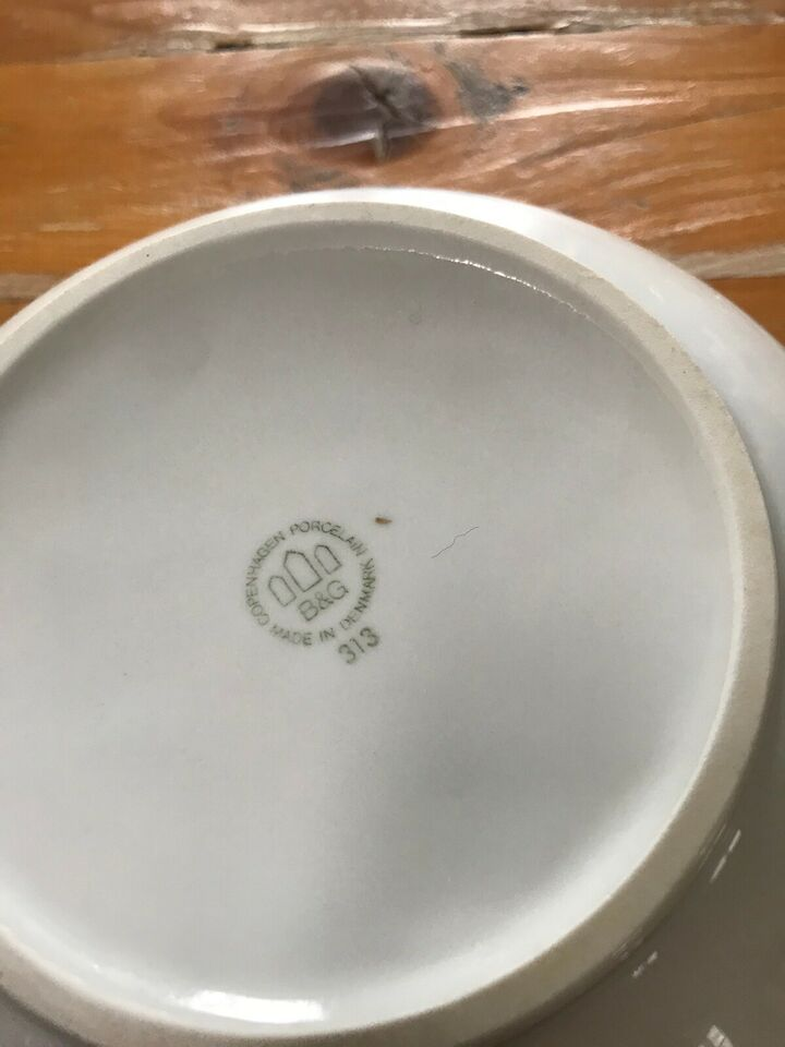 Porcelæn, Skål, Bing og Grøndahl