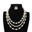Charm-Fashion-Women-Jewelry-Pendant-Choker-Chunky-Statement-Chain-Bib-Necklace thumbnail 32