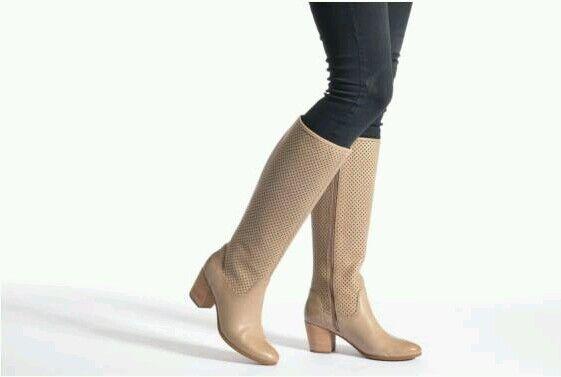 modelo marca más vendido de la marca modelo Geox para mujer Botas de cuero de becerro dlucindad 5270D  .50 talla ee5c4f