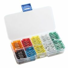 120 Pcs Assorted Car Truck Mini Low Profile Fuse Holder 5,7.5,10,15,20,25,30 AMP