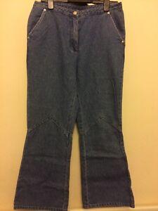 Ladies-Blue-Star-Jeans-Wear-Size-14