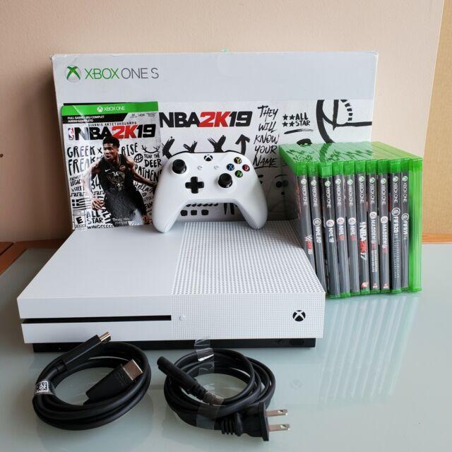 Xbox One S 1TB Console Bundle - 12 Games - Excellent Condition