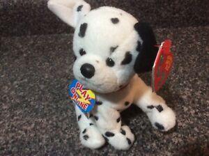 Ty 2.0 Beanie Baby ~ HYDRANT the Dalmatian Dog (6 Inch) NEW w/tag & unused code