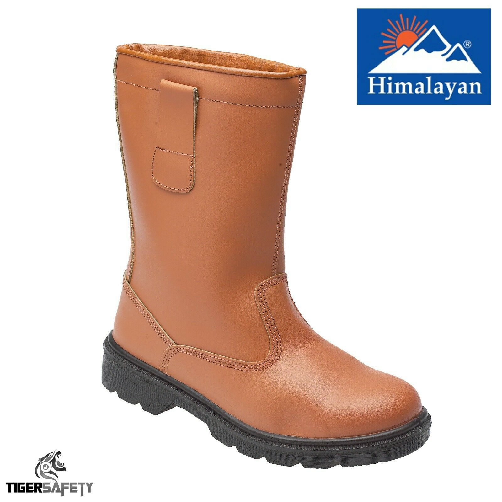 Himalayan 2413 S1P SRC Tan Leather Warm Lined Steel Toe Cap Safety Rigger Boots