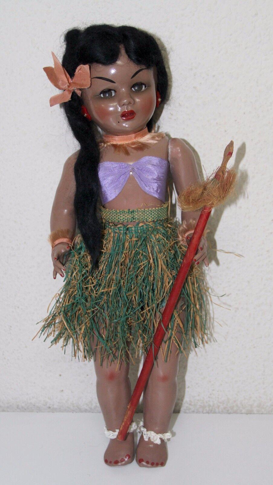 LILÍ DOLL (GISELA'S SISTER). COMPOSITION. SLEEPING EYES. SPAIN. 50s
