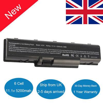 Laptop Battery For Acer Aspire 5734Z 5735Z 5738 5740 4710 4720 AS07A75  AS07A51 F   eBay