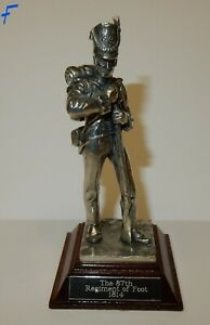 Royal-Hampshire-Art-Foundry-Pewter-Napoleonic-Soldier-The-87th-Regiment-F