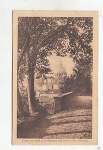 BF32727-roma-la-cupola-di-s-pietro-vista-delle-mura-italy-front-back-image