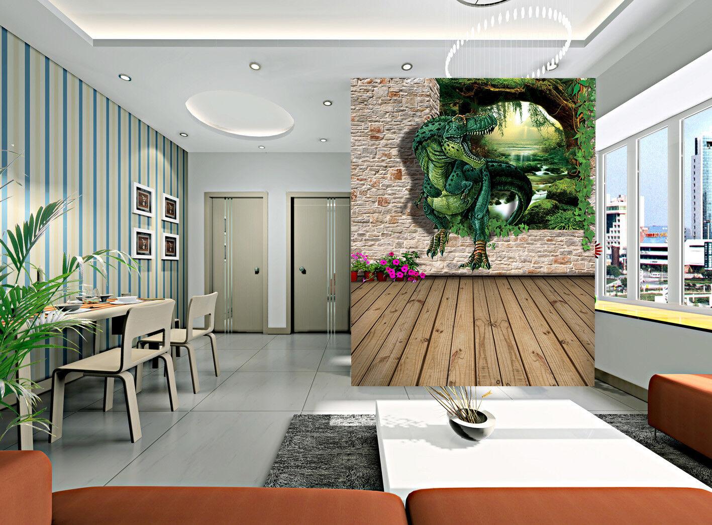 3D Horror Dinosaur 8 Wall Paper Murals Wall Print Wall Wallpaper Mural AU Summer