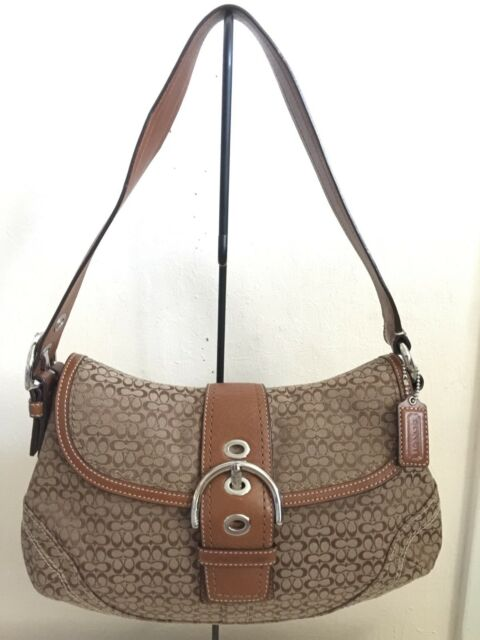 8e946c6edfe6 Pre-owned COACH SIGNATURE SMALL HOBO SHOULDER BAG 12309 - in Great Condition