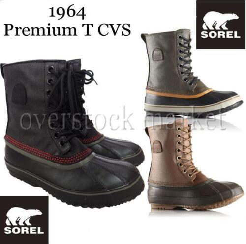 1372521 VARIETY NEW MEN/'S SOREL 1964 PREMIUM T CVS WATERPROOF WINTER SNOW BOOTS