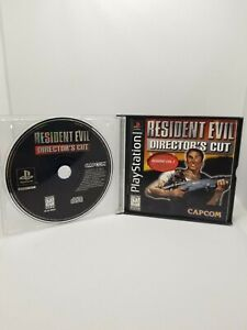 Resident Evil Director's Cut (PlayStation 1) Black Label - PS1 - missing cover