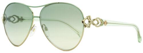 Roberto Cavalli Aviator Sunglasses RC1078 Minucciano 33Q Palladium//Green 61mm 10