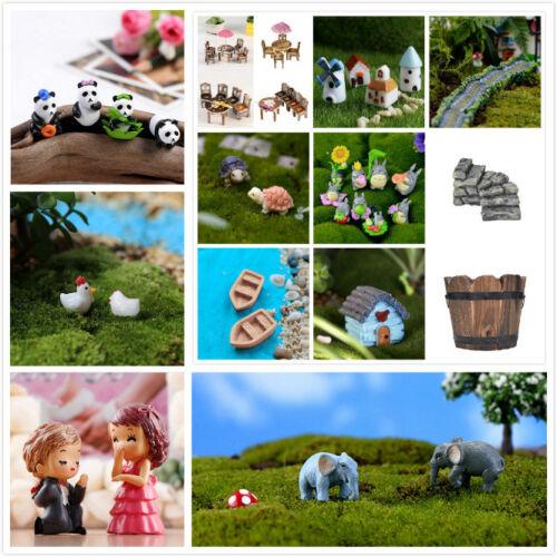 44 Stil Figurine Handwerk Blumentopf Garten Ornament Miniatur Fee Garten DekoZJP