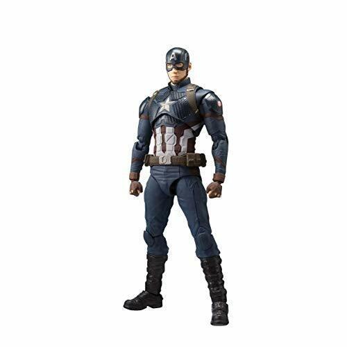 Bandai S.H. FIGUARTS FIGURA DE juego final de Capitán América Los Vengadores con seguimiento Nuevo