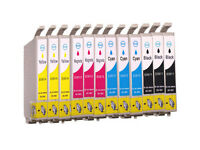 12 Fits For Epson DX4200 DX4800 Ink Cartridges Stylus Printer