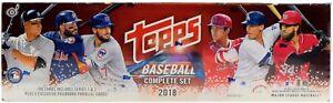 2018-Topps-MLB-Baseball-Factory-Set-Hobby-Edition-Box-BRAND-NEW-amp-SEALED