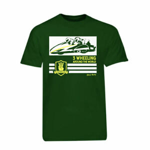Green-3-Wheeling-T-shirt-Official-3-Wheeling-Around-the-World-Sidecar-Racing-Tee