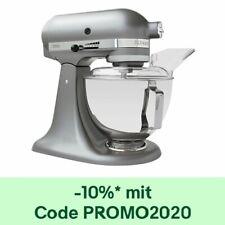 KitchenAid 5KSM45ESL Küchenmaschine 4,3L Direktantrieb Factory Serviced Silber