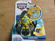 Transformers Rescue Bots BUMBLEBEE Robot to Motorcycle Playskool Heroes NEW