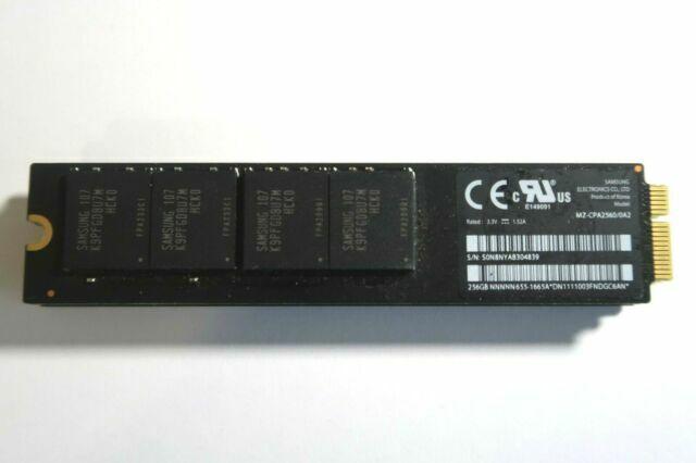 Samsung 256GB SSD MZ-CPA2560//0A2 655-1665A For 2010 2011 Apple Macbook Air