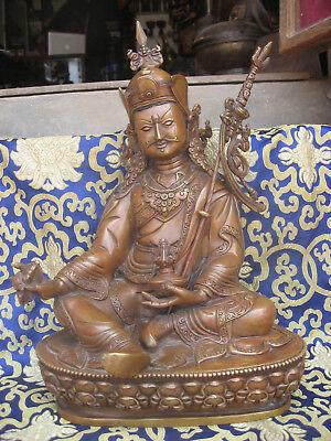 Other Asian Antiques Antiques Reasonable Antigüedad Master Calidad Hechos A Mano Tibet Guru Rimpoché Padmasambhava Rupa