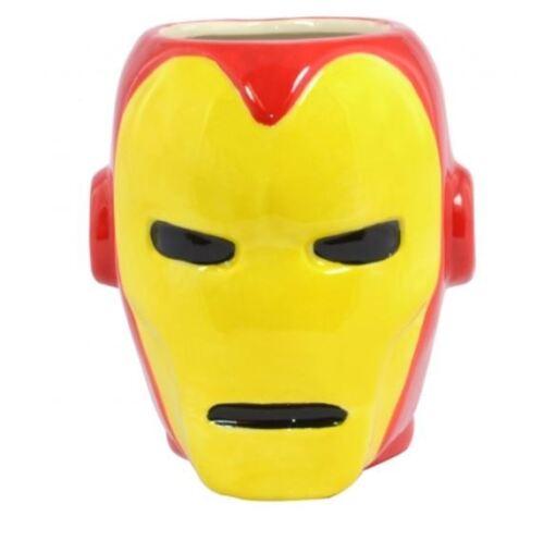 MARVEL COMICS OFFICIAL 3D SUPERHERO COFFEE MUG SPIDERMAN IRONMAN CAPTAIN AMERICA