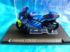 Moto miniature Yamaha YZR500 Shinya Nakano 2001