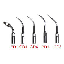 New Listing10pcs Usa Dental Ultrasonic Piezo Scaler Scaling Tips Fit Dte Satelec Handpiece