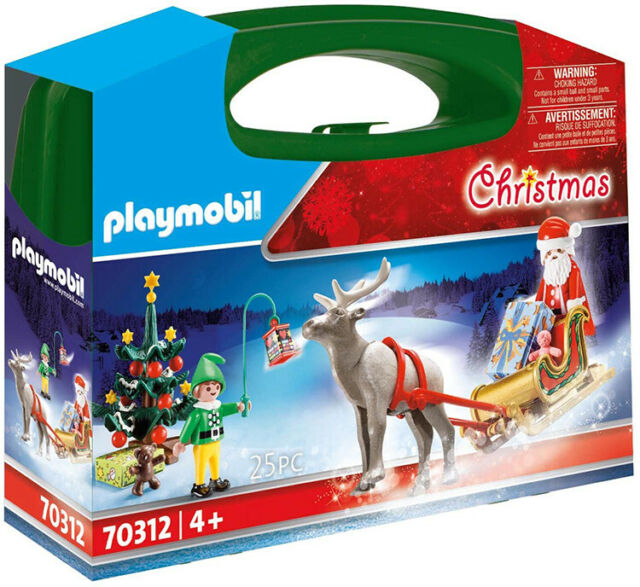 Playmobil Christmas Carry Case 70312 (for Kids 4 years and up)
