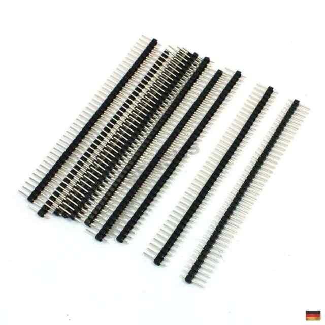 20X Male /& Female 40Pin 2,54 Mm Sil Header Steckleiste Streifen Pcb-AnschluYLW