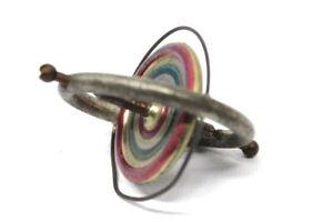 Antiker-Gyroskop-Kreisel-Blech