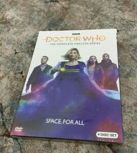 Doctor-Who-Season-12-DVD-2020-4-Disc-Set-Fast-shipping-New