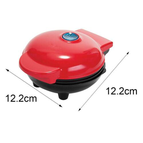 Mini Kitchen Supplies Waffle Maker Non Stick Baking Pan DIY Cake Panini Snacks